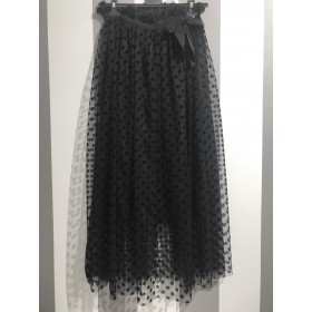 Gonna tulle crop