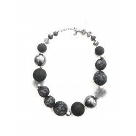 Necklace round - Glamour pearl