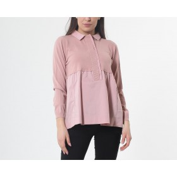 Casacca svasata rosa
