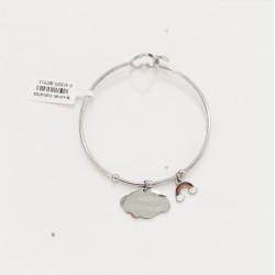 Rigid heart bracelet