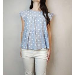T shirt stampa pois